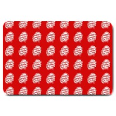 Happy Chinese New Year Pattern Large Doormat
