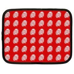 Happy Chinese New Year Pattern Netbook Case (Large)