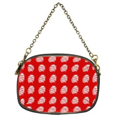 Happy Chinese New Year Pattern Chain Purses (One Side)