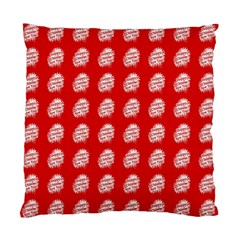 Happy Chinese New Year Pattern Standard Cushion Case (One Side)