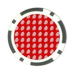 Happy Chinese New Year Pattern Poker Chip Card Guard (10 pack)
