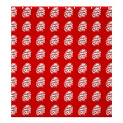 Happy Chinese New Year Pattern Shower Curtain 66  x 72  (Large)