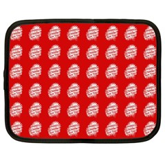 Happy Chinese New Year Pattern Netbook Case (XXL)