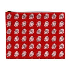 Happy Chinese New Year Pattern Cosmetic Bag (XL)