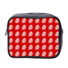 Happy Chinese New Year Pattern Mini Toiletries Bag 2-Side