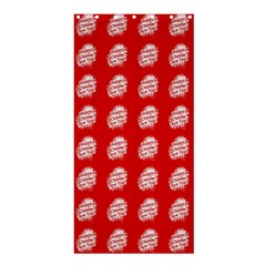 Happy Chinese New Year Pattern Shower Curtain 36  x 72  (Stall)