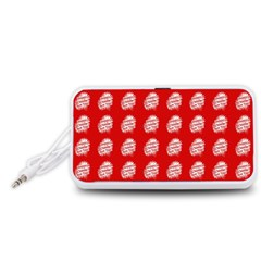 Happy Chinese New Year Pattern Portable Speaker (White)