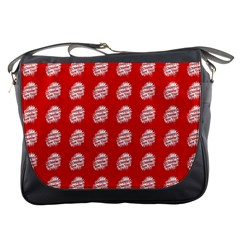 Happy Chinese New Year Pattern Messenger Bags