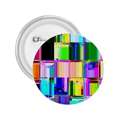 Glitch Art Abstract 2.25  Buttons