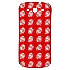 Happy Chinese New Year Pattern Samsung Galaxy S3 S III Classic Hardshell Back Case