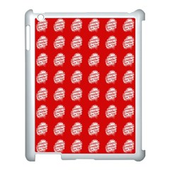 Happy Chinese New Year Pattern Apple iPad 3/4 Case (White)