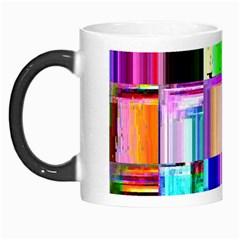 Glitch Art Abstract Morph Mugs