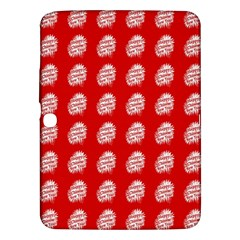 Happy Chinese New Year Pattern Samsung Galaxy Tab 3 (10.1 ) P5200 Hardshell Case