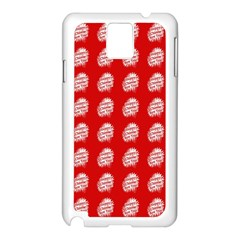 Happy Chinese New Year Pattern Samsung Galaxy Note 3 N9005 Case (White)