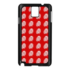 Happy Chinese New Year Pattern Samsung Galaxy Note 3 N9005 Case (Black)