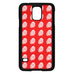 Happy Chinese New Year Pattern Samsung Galaxy S5 Case (Black)