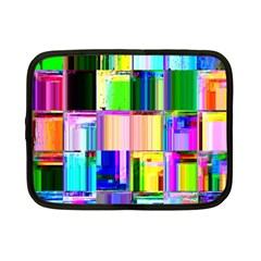 Glitch Art Abstract Netbook Case (Small)