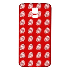 Happy Chinese New Year Pattern Samsung Galaxy S5 Back Case (White)