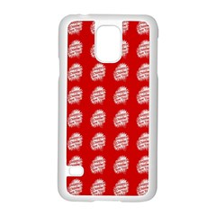 Happy Chinese New Year Pattern Samsung Galaxy S5 Case (White)