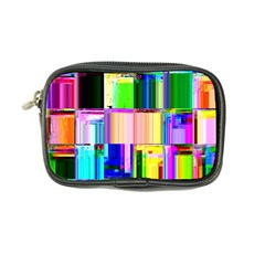 Glitch Art Abstract Coin Purse