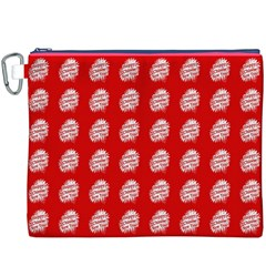 Happy Chinese New Year Pattern Canvas Cosmetic Bag (XXXL)