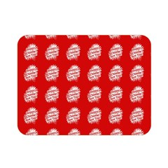 Happy Chinese New Year Pattern Double Sided Flano Blanket (Mini)