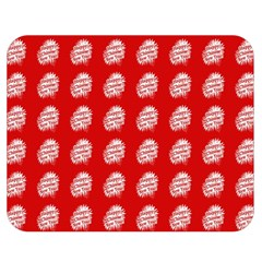 Happy Chinese New Year Pattern Double Sided Flano Blanket (Medium)