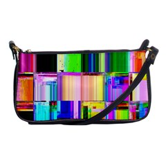 Glitch Art Abstract Shoulder Clutch Bags