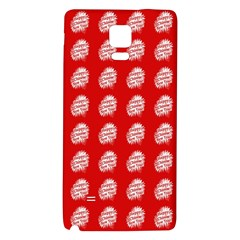 Happy Chinese New Year Pattern Galaxy Note 4 Back Case