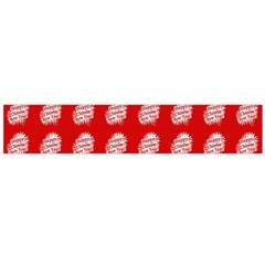Happy Chinese New Year Pattern Flano Scarf (Large)