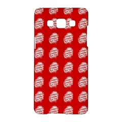 Happy Chinese New Year Pattern Samsung Galaxy A5 Hardshell Case