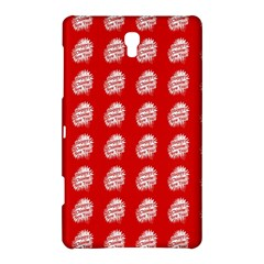 Happy Chinese New Year Pattern Samsung Galaxy Tab S (8.4 ) Hardshell Case