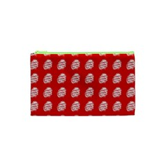 Happy Chinese New Year Pattern Cosmetic Bag (XS)