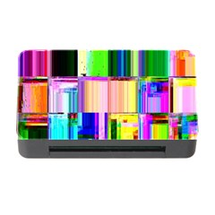 Glitch Art Abstract Memory Card Reader with CF