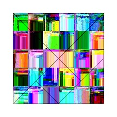Glitch Art Abstract Acrylic Tangram Puzzle (6  X 6 )