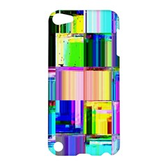 Glitch Art Abstract Apple iPod Touch 5 Hardshell Case