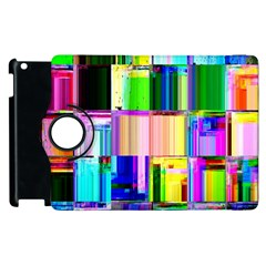 Glitch Art Abstract Apple iPad 3/4 Flip 360 Case
