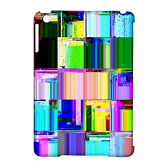 Glitch Art Abstract Apple Ipad Mini Hardshell Case (compatible With Smart Cover)