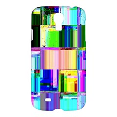 Glitch Art Abstract Samsung Galaxy S4 I9500/I9505 Hardshell Case