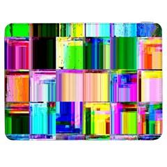 Glitch Art Abstract Samsung Galaxy Tab 7  P1000 Flip Case