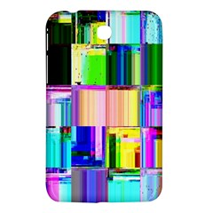 Glitch Art Abstract Samsung Galaxy Tab 3 (7 ) P3200 Hardshell Case