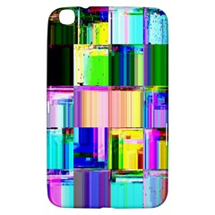 Glitch Art Abstract Samsung Galaxy Tab 3 (8 ) T3100 Hardshell Case