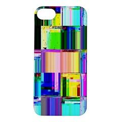 Glitch Art Abstract Apple iPhone 5S/ SE Hardshell Case