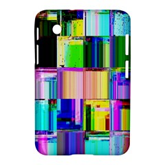 Glitch Art Abstract Samsung Galaxy Tab 2 (7 ) P3100 Hardshell Case