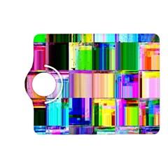 Glitch Art Abstract Kindle Fire HD (2013) Flip 360 Case