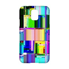 Glitch Art Abstract Samsung Galaxy S5 Hardshell Case
