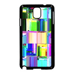 Glitch Art Abstract Samsung Galaxy Note 3 Neo Hardshell Case (Black)