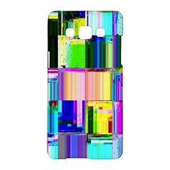 Glitch Art Abstract Samsung Galaxy A5 Hardshell Case