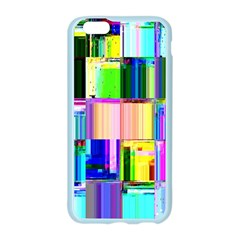 Glitch Art Abstract Apple Seamless iPhone 6/6S Case (Color)