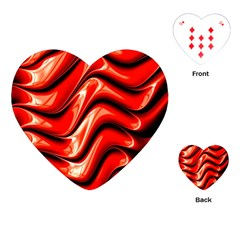 Fractal Mathematics Abstract Playing Cards (Heart)